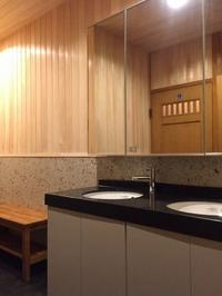大阪大東市の住宅リノベーション。洗面脱衣室。 - 家をつくることを考える仕事をしています。 Coo Planning