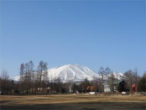 雪が降っています - 北軽井沢スウィートグラス