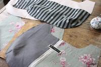 YUWAローズと久しぶりに作る新作バッグを試行錯誤しながら制作中♪ - neige+ 手作りのある暮らし