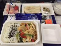 金浦→羽田便の機内食 - さくらの気持ちとsuper Seoul♪