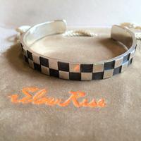 Slow Rise 新作バングルはチェッカーボード - BEATNIKオーナーの洋服や音楽の毎日更新ブログ