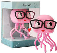 Aviva - the Pink and Curious Jellyfish by Ronen Lalena - 下呂温泉 留之助商店 入荷新着情報