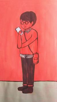 ニュウケータイ - たなかきょおこ-旅する絵描きの絵日記/Kyoko Tanaka Illustrated Diary