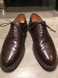 【SILVANO LATTANZI】重厚で豪奢な一足 - 銀座三越5F シューケア&リペア工房<紳士靴・婦人靴・バッグ・鞄の修理&ケア>