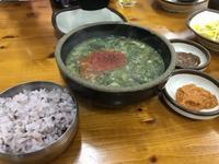 2017年1月 済州島への旅 その6 済州島名物、海藻入り豚骨スープ「モムグッ」にハマる。 - キムチ屋修行の道