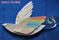 Rainbow wingsの小鳥(未完成ですが・・) - DOUBLE RAINBOW