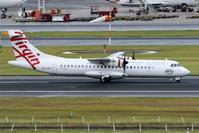 2017シドニー遠征 その15 シドニー1日目 ヴァージン・オーストラリア・リージョナルのATR-72-600 - 南の島の飛行機日記