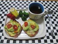 朝食に^^アボカドチーズトースト風クリスケット - candy&sarry&・・・