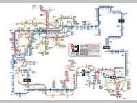 電車路線図 10 - 風に吹かれてすっ飛んで ノノ(ノ`Д´)ノ ネタ帳
