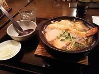 地元の ひのや で 鍋焼うどん♪ - よく飲むオバチャン☆本日のメニュー