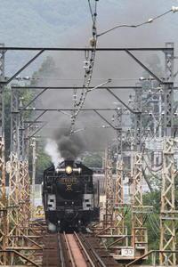 夏の黒い煙と白い蒸気と白い鉄橋- 2016年夏・秩父 - - ねこの撮った汽車