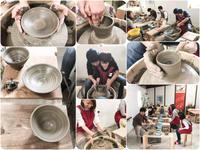 本日の陶芸教室 Vol.612、613、614 - 陶工房スタジオ ル・ポット