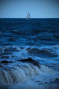 大洗の海  /  XF55-200mmF3.5-4.8 R LM OIS - みなかわ写瞬間