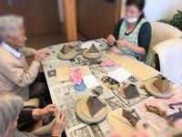 【▲△◭◬花びん作り】 - 出張陶芸教室げんき工房