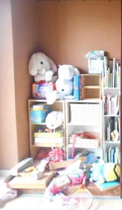 おもちゃ置き場の片づけ - 片づけで、すっきり暮らし。