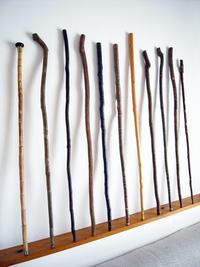 またまた杖を作る - ちょい古道具ライフ