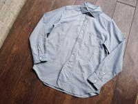 """NEW : Nigel Cabourn [BRITISH OFFICER'S SHIRT] """"PINPOINT OXFORD"""" 2017 SPRING - HOME TOWN STORE River Side"""
