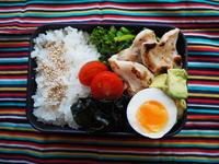 3/22(水)菜の花ととりささみのソテー弁当 - ぬま食堂