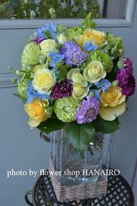 片足立ちにはちゃんとした理由があるのです。 - 花色~あなたの好きなお花屋さんになりたい~