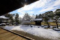 等持院の爽やかな雪景色 - 花景色-K.W.C. PhotoBlog