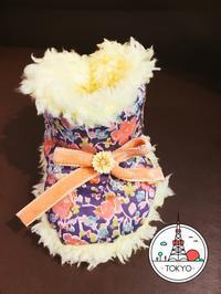 妊娠中の習い事  可愛いブーティー完成 - 東京洋裁教室 「  Sewing  Theray  」初心者*マタニティさんの手作り教室