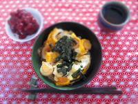 鶏肉なしの親子丼 - 恵茶房 meg tea labo
