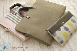 息子と娘の縫わないバッグ類 - Living room cafe diary