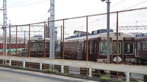 阪急正雀みたまま 阪急7025F 4連 通電中 - 人生・乗り物・熱血野郎