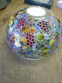 フルーツのランプ - atelier GLADYS  ステンドグラス工房 作り手の日々