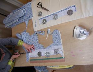 今日の教室 - ドレスレイのブログ洋裁教室帽子教室東京都荒川区
