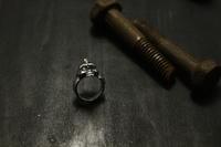 MOHICAN XXXXX MHR-04 / チビスカルリング - アクセサリー職人 モリタカツヤ MOHICAN XXXXX  Jewelry Factory KUROBE