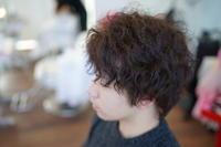 メンズパーマはカールのセクシーさが魅力です(^^♪ - 浜松市浜北区の美容室 SKYSCAPE(スカイスケープ) 店長の鶸田(ひわだ)のブログです