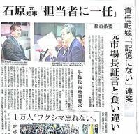20170322 【地方政治】昔もあったな「記憶にありません」 - 杉本敏宏のつれづれなるままに