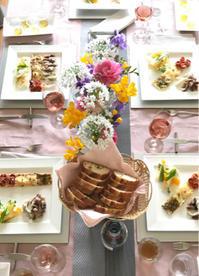 3月のテーブル♡&お花を長持ちさせるコツ - 8階のキッチンから   ~イタリア料理教室のことetc.~