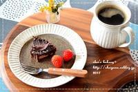 タルト・オ・ショコラでおやつタイム - *sheipann cafe*