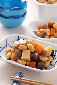 常備菜に!優しい味わいの五目豆 - cafeごはん。ときどきおやつ