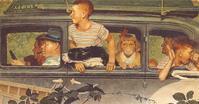 ノーマン・ロックウェルの「陽気な日曜日」 - 続・感性の時代屋