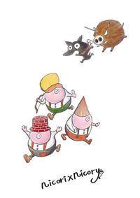 三匹の子豚。 - 職人的雑貨研究所