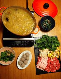 酸菜白肉鍋 - エリンゲル日記