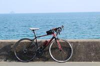 向島・自転車と海 - 猪こっと猛進