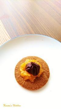 オレンジとチョコレートのビスケット。 - Heaven's Kitchen