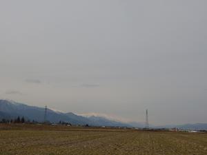 春の冷たい空気に - 安曇野時間