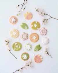 アイシングクッキー教室 さくら  - Misako's Sweets Blog アイシングクッキー 教室 シュガークラフト教室 フランス菓子教室 お菓子 教室