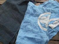 からむしと麻の筒描き・・・明治・大正・昭和の布・・まとめて洗濯 - 藍ちくちく日記