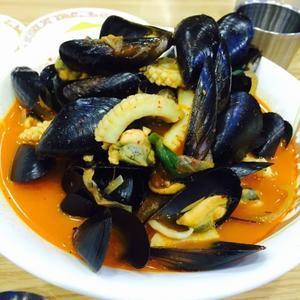 ソウル旅行 その3 ムール貝てんこ盛りのチャンポンを食べる♪ - ハレクラニな毎日Ⅱ