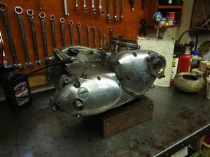 1979 TRIUMPH T140E エンジン分解 - Vintage motorcycle study
