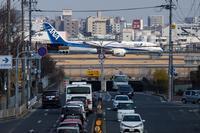 飛行機のある日常風景 - 写真ブログ「四季の詩」