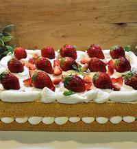 フルーツのデコレーションケーキ - ミルクムーン