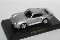 1/64 Kyosho PORSCHE 959 1987 - 1/87 SCHUCO & 1/64 KYOSHO ミニカーコレクション byまさーる