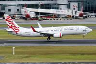 2017シドニー遠征 その16 シドニー1日目 ヴァージン・オーストラリア B737-800 - 南の島の飛行機日記